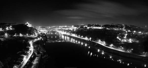 Photograph - Porto @ Night by Bruno Rosa