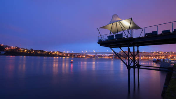 Photograph - Porto @ Night With A Touch Of Long Exposure by Bruno Rosa