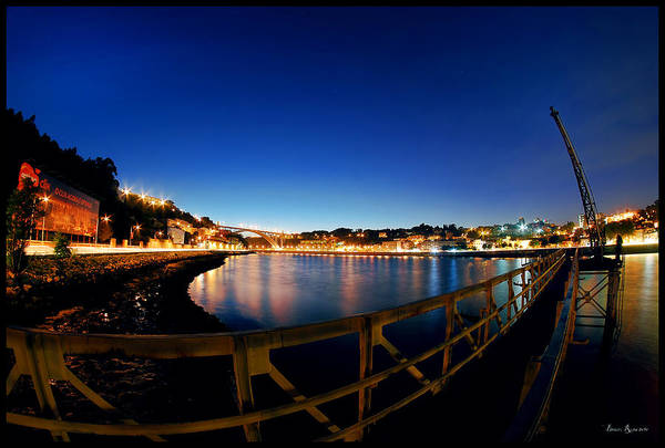 Photograph - Porto By Night. by Bruno Rosa