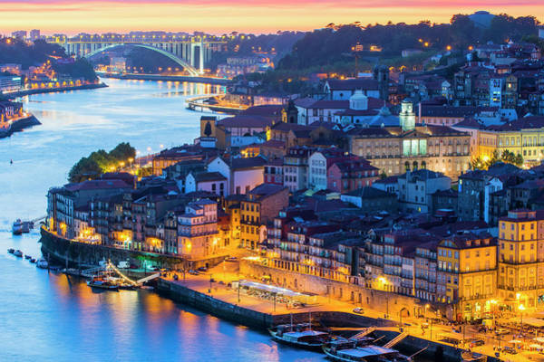 Douro Wall Art - Photograph - Porto by Gabrielle Therin-weise