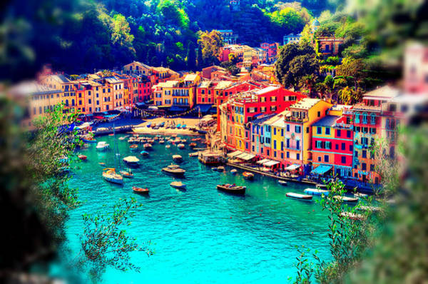 Mixed Media - Portofino Dream by Michelle Dallocchio