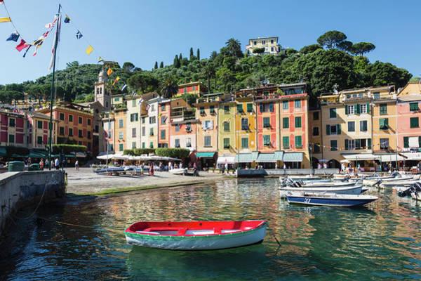 Portofino Photograph - Portofino, Genoa Province, Italian by Panoramic Images