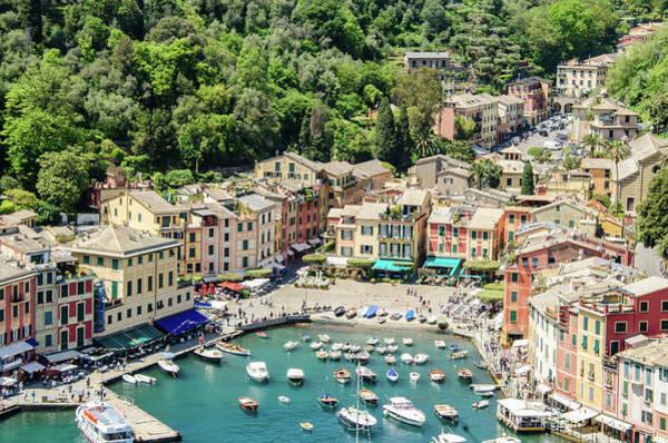 Portofino Photograph - Portofino Harbor by Alfredo J G A Borba