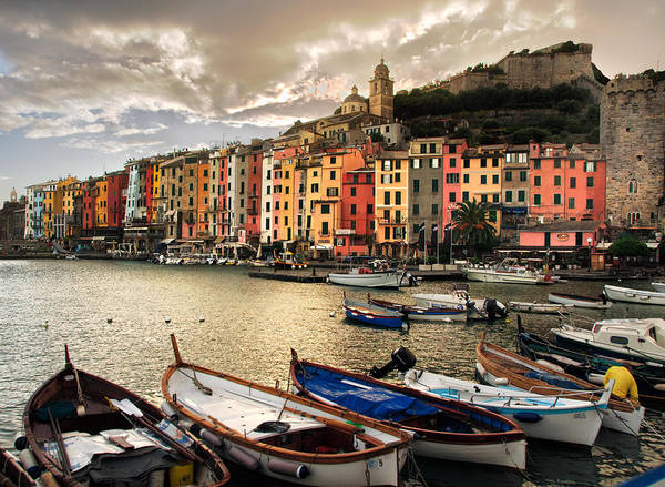 Photograph - Portovenere Harbor by William Beuther