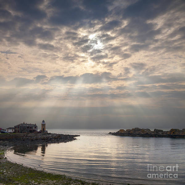 Galloway Wall Art - Photograph - Portpatrick Dumfries And Galloway Scotland by Colin and Linda McKie