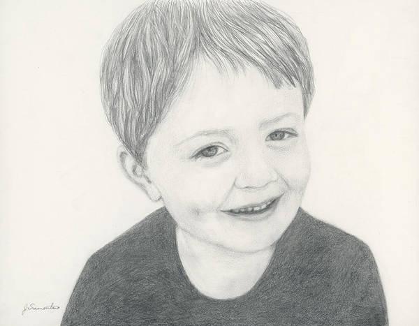 Painting - Pencil Portrait by Jeannette Tramontano