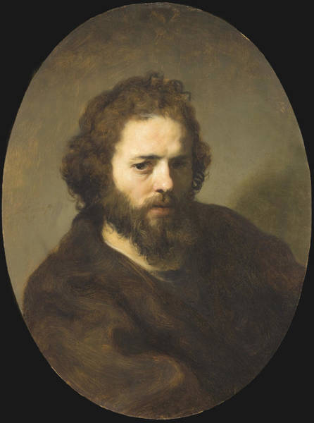 Painting - Portrait Of A Bearded Man by Celestial Images