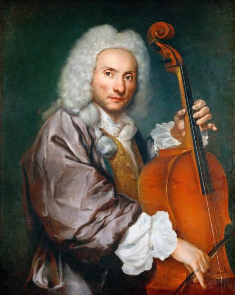 Cellist Painting - Portrait Of A Cellist by Giacomo Ceruti