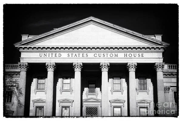 Photograph - Portrait Of A Custom House by John Rizzuto
