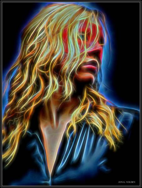 Painting - Portrait Of A Heroine by Jon Volden