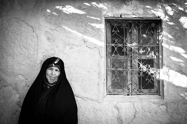 Real People Photograph - Portrait Of A Local Woman by Douglas Pearson / Robertharding