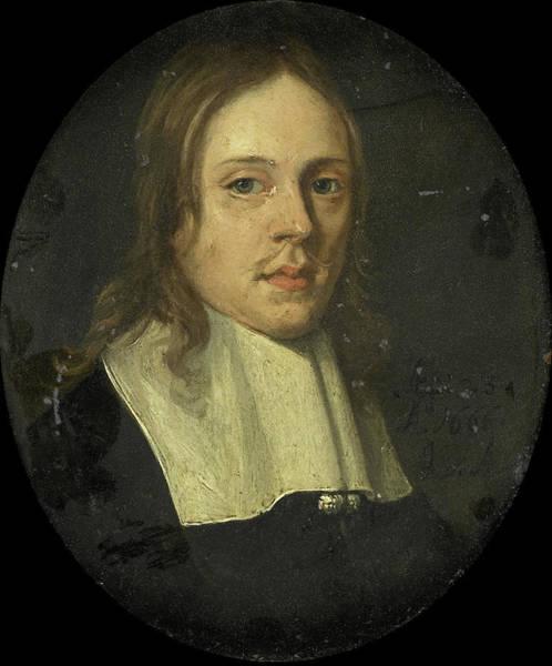 Wall Art - Drawing - Portrait Of A Man, Jan Van Assen by Litz Collection