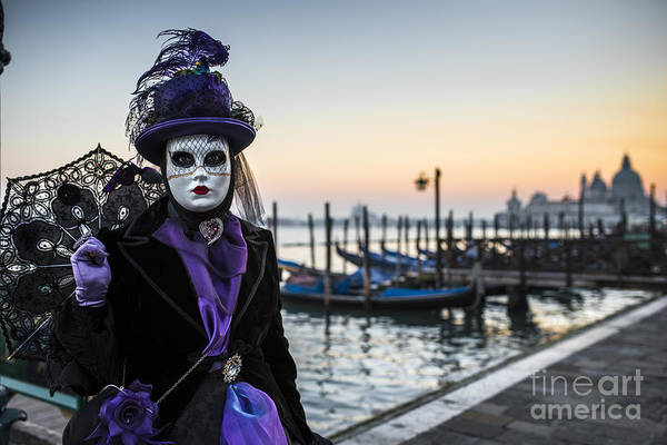 Carnival Photograph - Portrait Of A Mask II by Yuri San