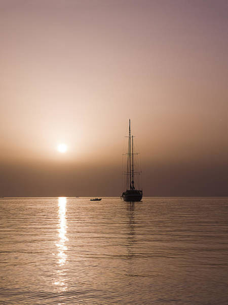 Photograph - Portrait Of A Sunset Sail by Brenda Kean