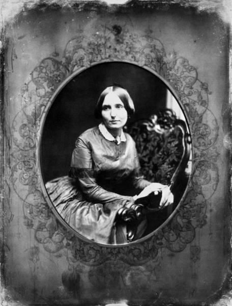 Photograph - Portrait Of A Woman, C1850 by Granger