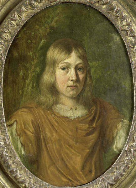 Wall Art - Drawing - Portrait Of A Young Man, Jan Van Mieris by Litz Collection