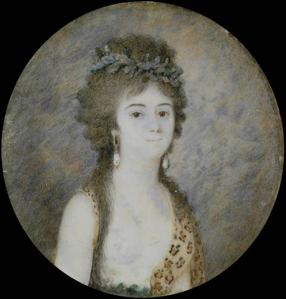 Wall Art - Drawing - Portrait Of A Young Woman, Anonymous, 1780 - 1799 by Litz Collection