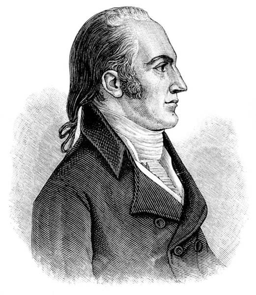 Vice Painting - Portrait Of Aaron Burr Politician 1770s by Vintage Images