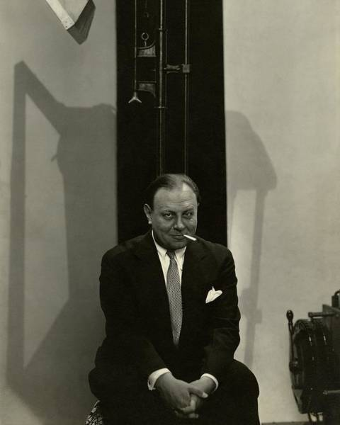 January 1st Photograph - Portrait Of Actor Emil Jannings by Edward Steichen