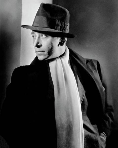 Male Portrait Photograph - Portrait Of Actor George Raft by Lusha Nelson