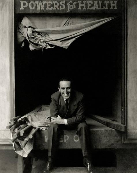 January 1st Photograph - Portrait Of Actor Harold Lloyd by Edward Steichen