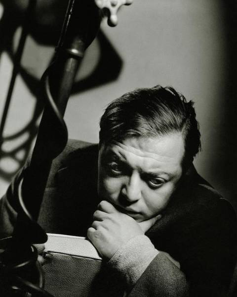 Relaxation Photograph - Portrait Of Actor Peter Lorre by Anton Bruehl
