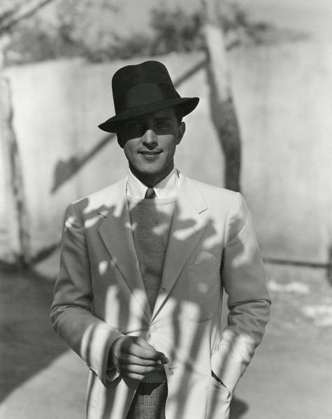 Male Portrait Photograph - Portrait Of Actor Phillips Holmes by George Hoyningen-Huene