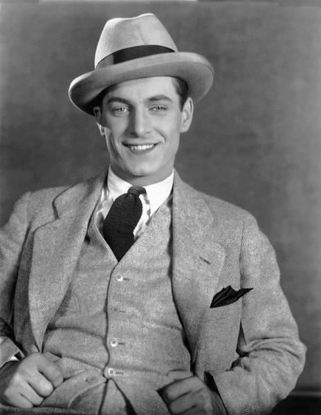 Photograph - Portrait Of Actor Rex Lease by Underwood Archives
