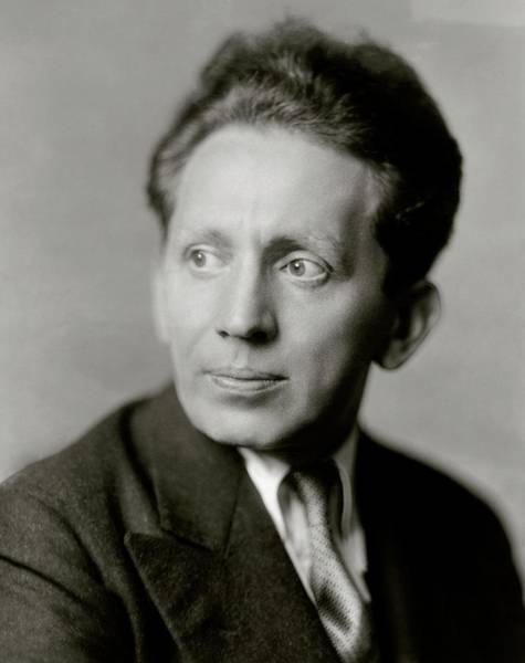 Male Portrait Photograph - Portrait Of Actor Sam Jaffe by Florence Vandamm
