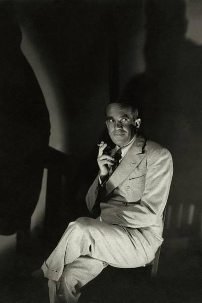 Male Portrait Photograph - Portrait Of Al Jolson by Edward Steichen