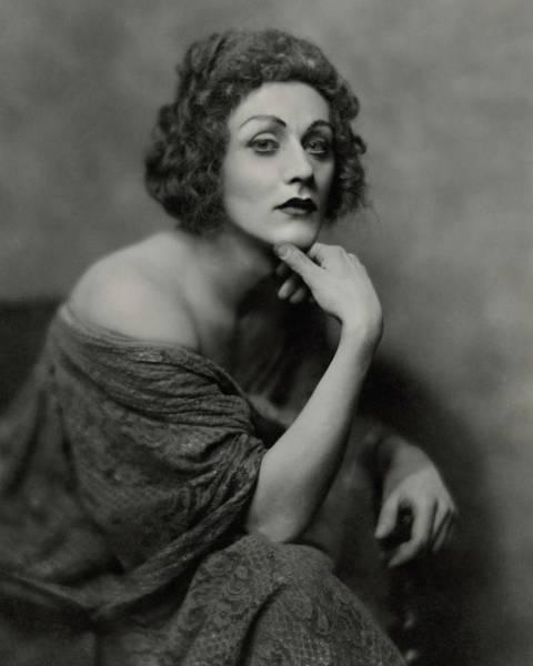 Dressing Photograph - Portrait Of Albert Carroll In Costume by Nickolas Muray