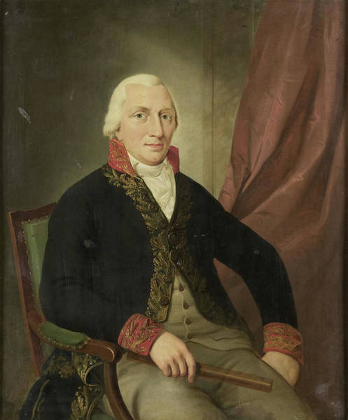 Wiese Wall Art - Drawing - Portrait Of Albertus Henricus Wiese, Governor-general by Litz Collection