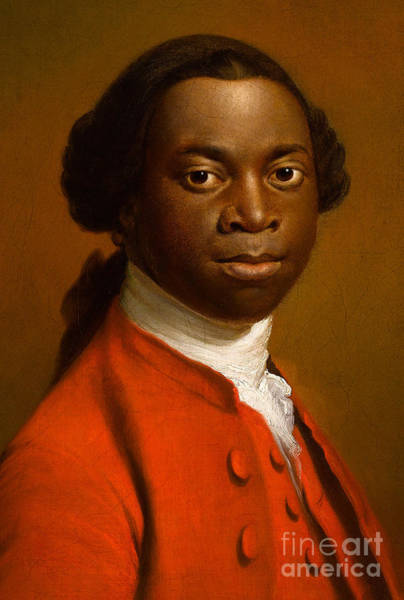 Confident Painting - Portrait Of An African by Allan Ramsay