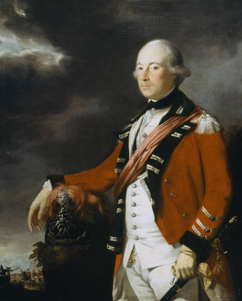 Three Kings Painting - Portrait Of An Officer Of The 15th by Tilly Kettle