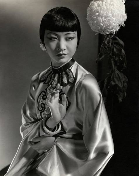 Photograph - Portrait Of Anna May Wong by Edward Steichen