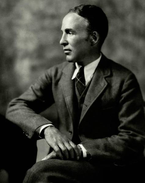 Poet Photograph - Portrait Of Archibald Macleish by Ben Pinchot
