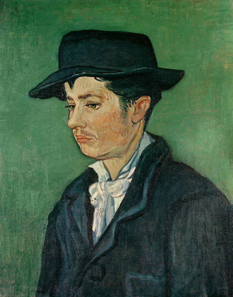 Impressionist Photograph - Portrait Of Armand Roulin, 1888 Oil On Canvas by Vincent van Gogh