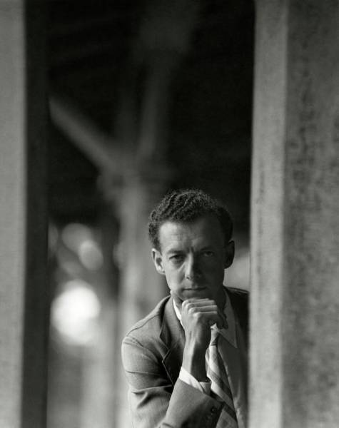 Classical Music Photograph - Portrait Of Benjamin Britten by Frances McLaughlin-Gill