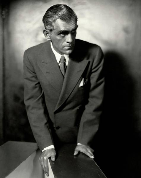January 1st Photograph - Portrait Of Boris Karloff by Ben Pinchot
