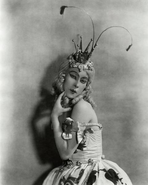 Dance Photograph - Portrait Of Bronislava Nijinska In Costume by Florence Vandamm