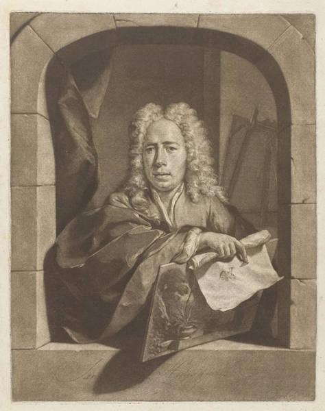 Wall Art - Painting - Portrait Of Carel Borchaert Voet, Nicolaas Verkolje by Nicolaas Verkolje