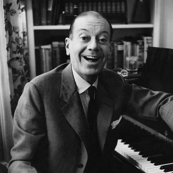 Classical Music Photograph - Portrait Of Cole Porter Sitting At His Piano by Frances Mclaughlin-Gill