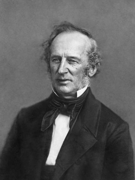 Businessman Photograph - Portrait Of Cornelius Vanderbilt by Matthew Brady