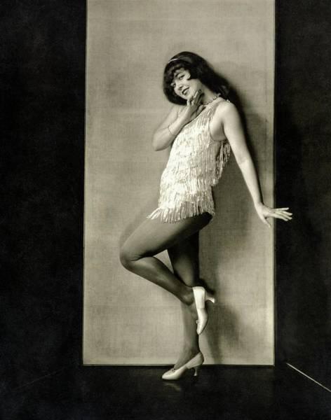 Wall Art - Photograph - Portrait Of Dancer Ann Pennington by Charles Sheeler