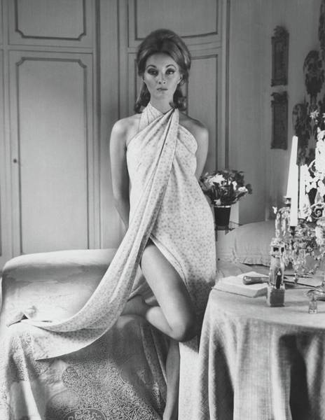 Bed Photograph - Portrait Of Daniela Bianchi by Henry Clarke