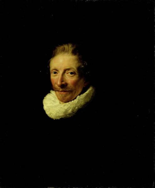 Wall Art - Drawing - Portrait Of David De Moor, Abraham De Vries by Litz Collection