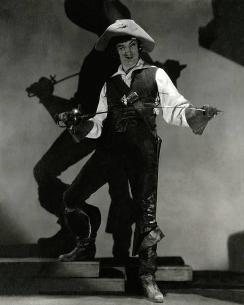 Waistcoat Photograph - Portrait Of Dennis King In Costume As D'artagnan by Edward Steichen