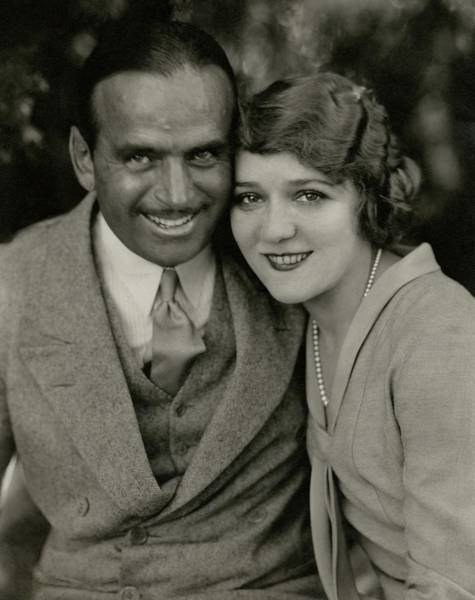 Husband Photograph - Portrait Of Douglas Fairbanks And Mary Pickford by Edward Steichen