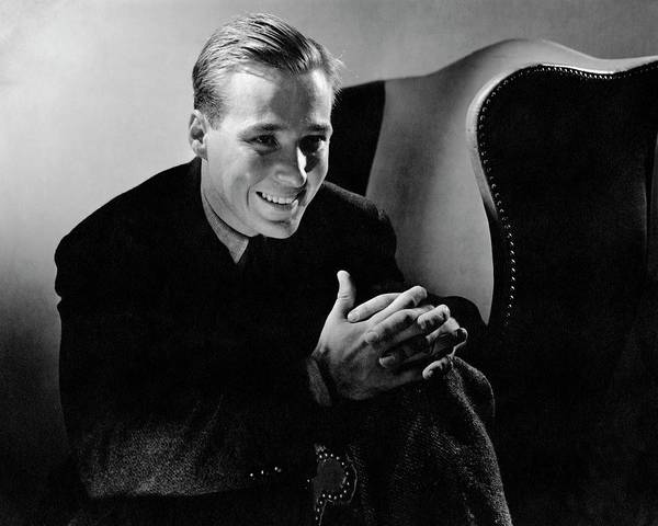 Celebrities Photograph - Portrait Of Douglas Montgomery by Edward Steichen