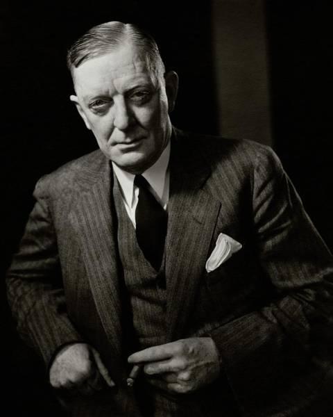 Chairman Of The Board Photograph - Portrait Of Edward Mulrooney by Edward Steichen